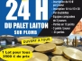 24 heures palet Laiton