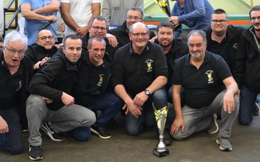 Le P'tit Palet Verriais remporte le Challenge Inter-Clubs Laiton !